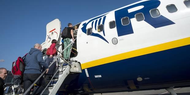 Ryanair: hausse de 17% du nombre des passagers en Belgique - La Libre