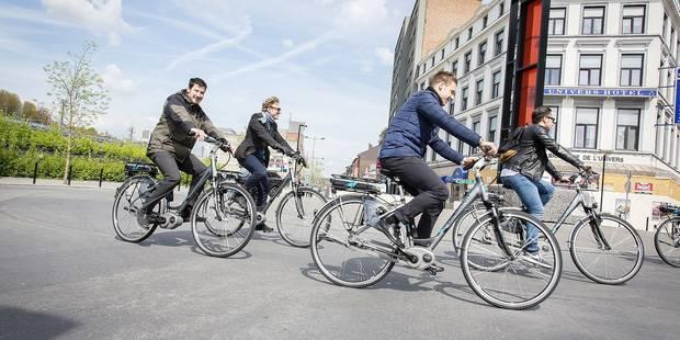 L'essor du deux-roues à Liège - La Libre