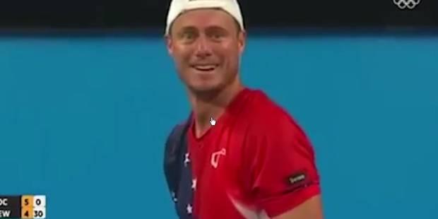 L'improbable geste de fair-play de ce tennisman (VIDEO) - La Libre