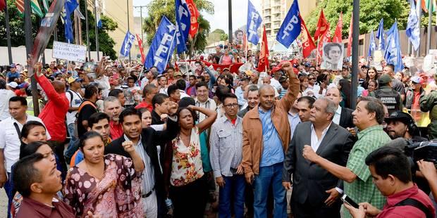 Venezuela: le conflit entre opposition et gouvernement vire à la crise institutionnelle - La Libre