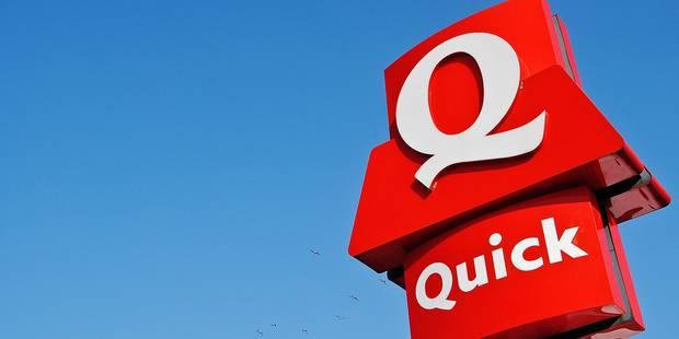 Quick Belgique à vendre: déjà des marques d'intérêt - La Libre