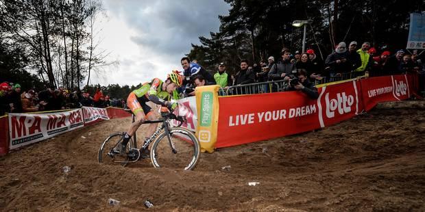 """Championnats de Belgique de cyclocross: Wout van Aert savoure """"le plus beau jour"""" de sa vie - La Libre"""