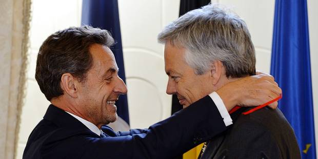 Entre Juppé et Sarkozy, le coeur du MR balance - La Libre