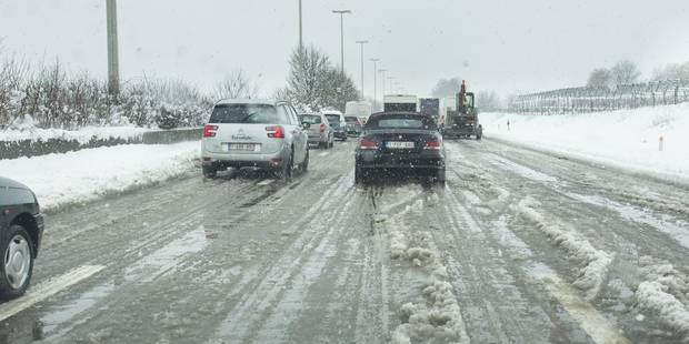 La phase de pré-alerte routière en Wallonie est levée - La Libre
