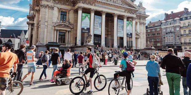 Piétonnier: la Ville de Bruxelles accepte enfin l'aide d'Atrium - La Libre