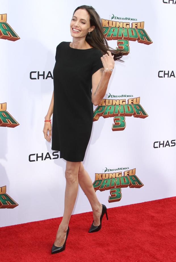 Angelina Jolie Anorexique Photo angelina jolie inquiète par sa maigreur - la libre