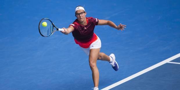 Open d'Australie : Kirsten Flipkens s'incline au deuxième tour face à la N.3 mondiale - La Libre