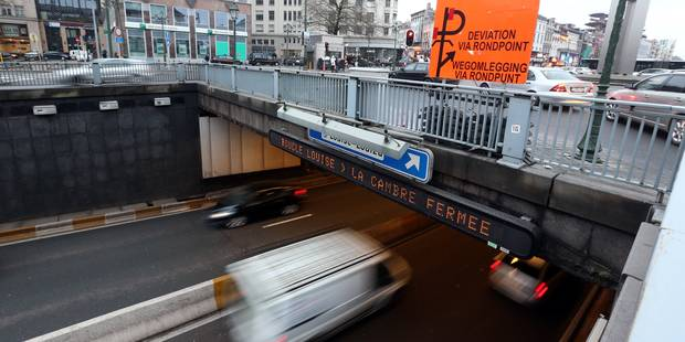 Réouverture du tunnel Stéphanie avant un an ? Etude en cours - La Libre