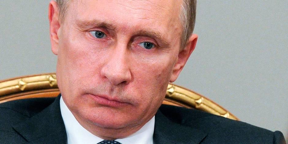 """Le Trésor américain affirme que Vladimir Poutine est """"corrompu"""""""