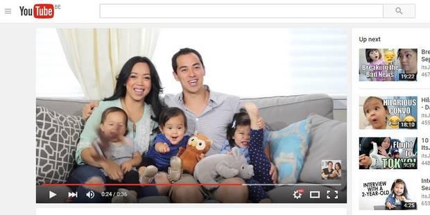 Raconter sa vie de famille sur YouTube ou la téléréalité faite maison - La Libre