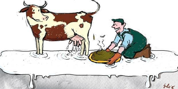 La mort programmée des petits producteurs laitiers - La Libre