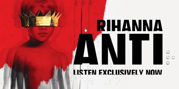 """Rihanna dévoile son très attendu nouvel album """"Anti"""" - La Libre"""