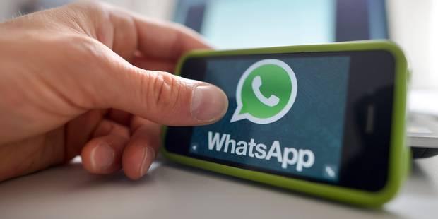WhatsApp, filiale de Facebook, franchit la barre du milliard d'utilisateurs - La Libre