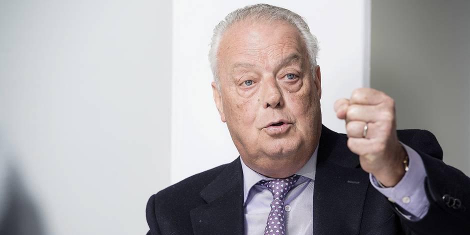 Roger vanden Stock, voorzitter van voetbalclub RSC Anderlecht.