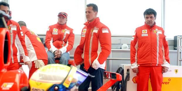 """Les nouvelles de Michael Schumacher ne sont """"pas bonnes"""" - La Libre"""