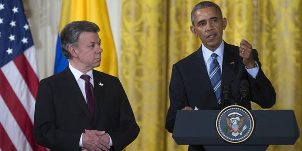 Obama promet son aide pour consolider la paix en Colombie - La Libre