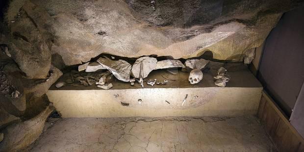Ramioul ( Flémalle ) : ouverture du Prehistomuseum , anciennement appelé le Préhistosite.
