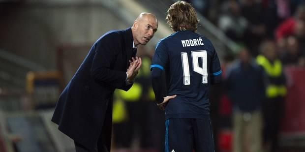 Quand Modric lâche une fusée, Zidane explose (VIDEOS) - La Libre