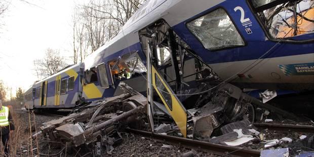 Accident de train en Allemagne: au moins 9 morts et une centaine de blessés - La Libre