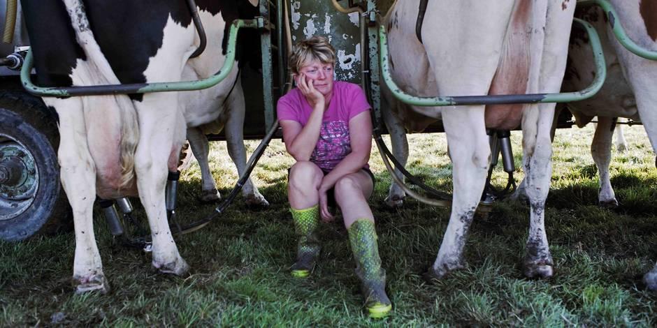 La vie à la ferme, quand on est une femme: les portraits doux-amers de Michel Loriaux