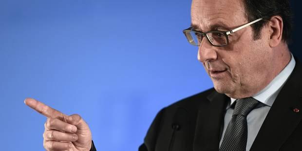 François Hollande abat sa dernière carte avant 2017 - La Libre