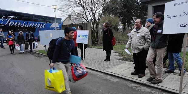 """Réfugiés à Couvin: """"Un accueil pas si catastrophique"""" - La Libre"""