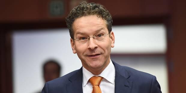 """Jeroen Dijsselbloem: Les banques de la zone euro en """"bien meilleure situation"""" - La Libre"""