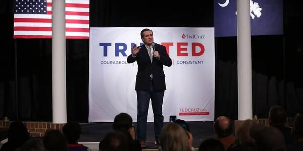 USA: une actrice de charme embarrasse le candidat ultra-conservateur Ted Cruz (VIDEO) - La Libre