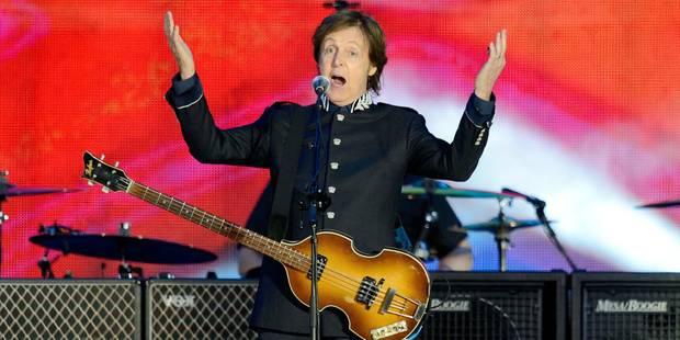 Sir Paul McCartney pour la première fois à Rock Werchter - La Libre