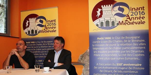 Une année médiévale au programme à Dinant - La Libre