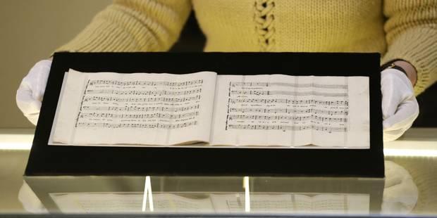 Une cantate vient enrichir l'oeuvre de Mozart - La Libre