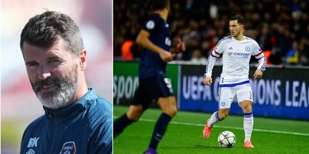 """Roy Keane: """"Hazard ? Si j'étais son équipier, je lui en ferais voir à l'entraînement !"""" - La Libre"""