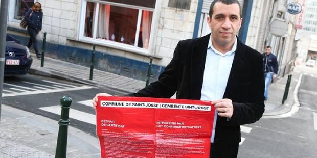 Saint-Josse: plainte contre des affiches humiliantes pour les prostituées - La Libre