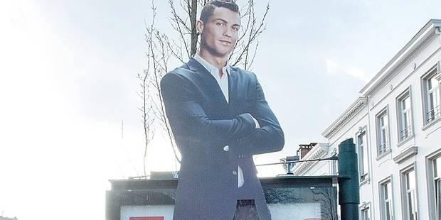 Bruxelles: la publicité avec Cristiano Ronaldo est illégale - La Libre