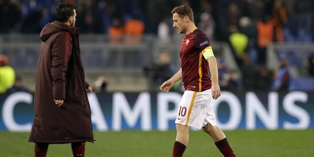 AS Rome: L'entraîneur Spalletti écarte Totti après ses déclarations - La Libre