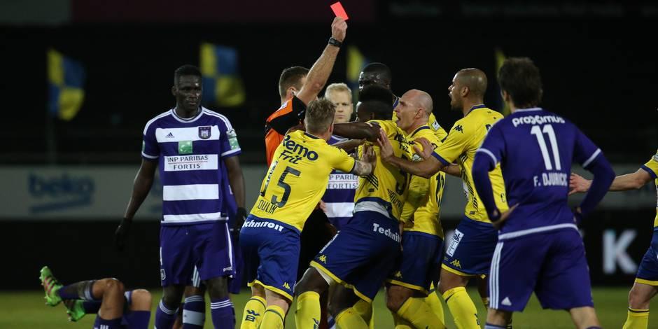 Anderlecht voit rouge à Waasland-Beveren (1-0)