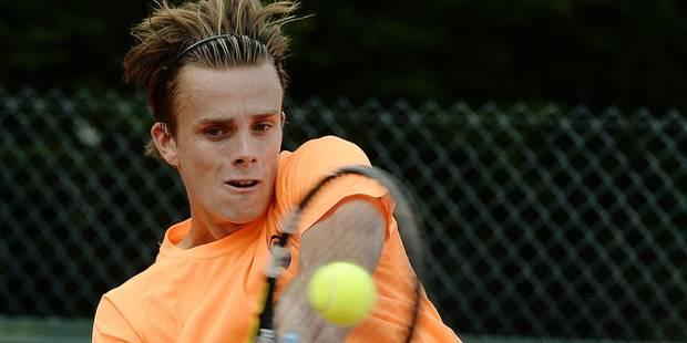 Arthur De Greef rejoint l'équipe de Coupe Davis - La Libre