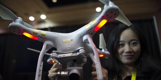 L'adaptation de l'arrêté royal sur les drones finalisée - La Libre