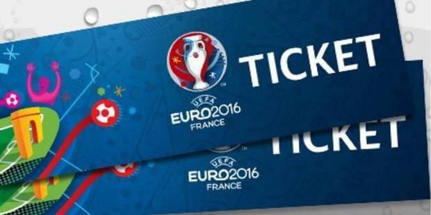 Euro 2016: Test-Achats demande aux supporters lésés par le système d'attribution des tickets de défendre leurs droits - ...