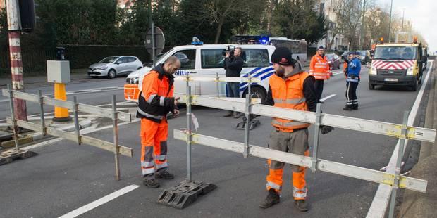 """""""Pas de chaos sur les grands axes"""" de la capitale malgré les tunnels fermés - La Libre"""