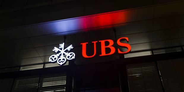 La banque UBS inculpée par la justice belge - La Libre