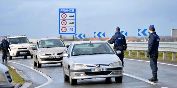 Contrôle de la frontière: 224 personnes ont été interceptées jeudi - La Libre