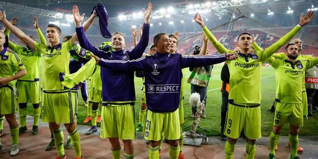 Europa League: Anderlecht affrontera le Shakhtar Donetsk en huitièmes de finale - La Libre