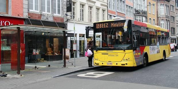 Tec : un nouveau réseau d'ici 2020 à Namur - La Libre