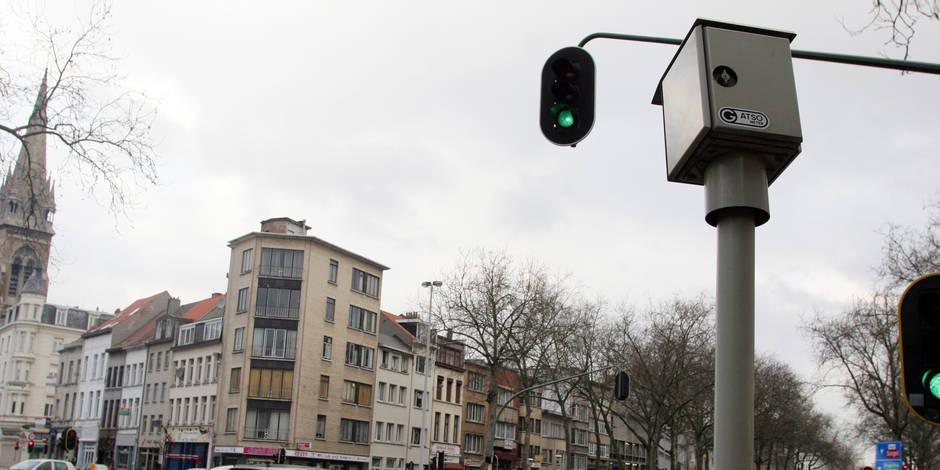 Les radars de feux rouges en Wallonie en 2017 - La Libre