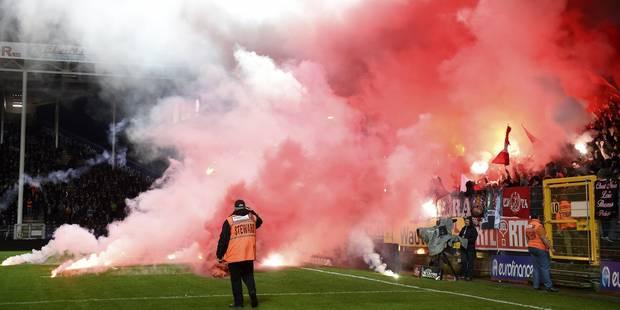 Incidents lors de Charleroi-Standard: deux matchs à huis clos dont un avec sursis pour les Rouches - La Libre