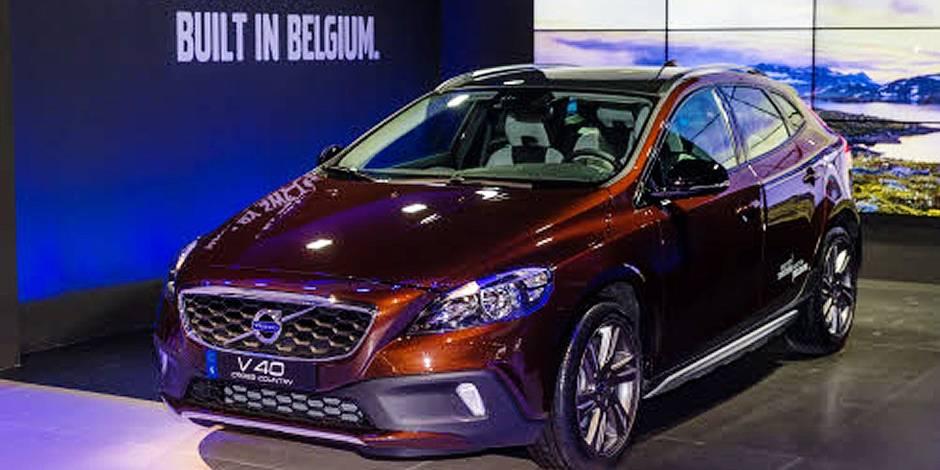 Volvo investit 200 millions d'euros à Gand - La Libre