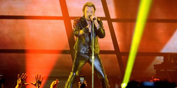 Johnny sur grand écran depuis Bruxelles - La Libre
