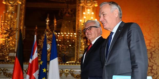 Paix en Ukraine: le couple franco-allemand en difficultés face à Kiev et Moscou - La Libre