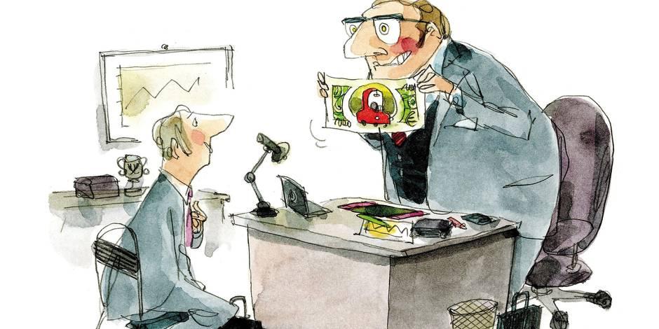 Une idée folle: et si on payait les employés avec? de l'argent ? - La Libre
